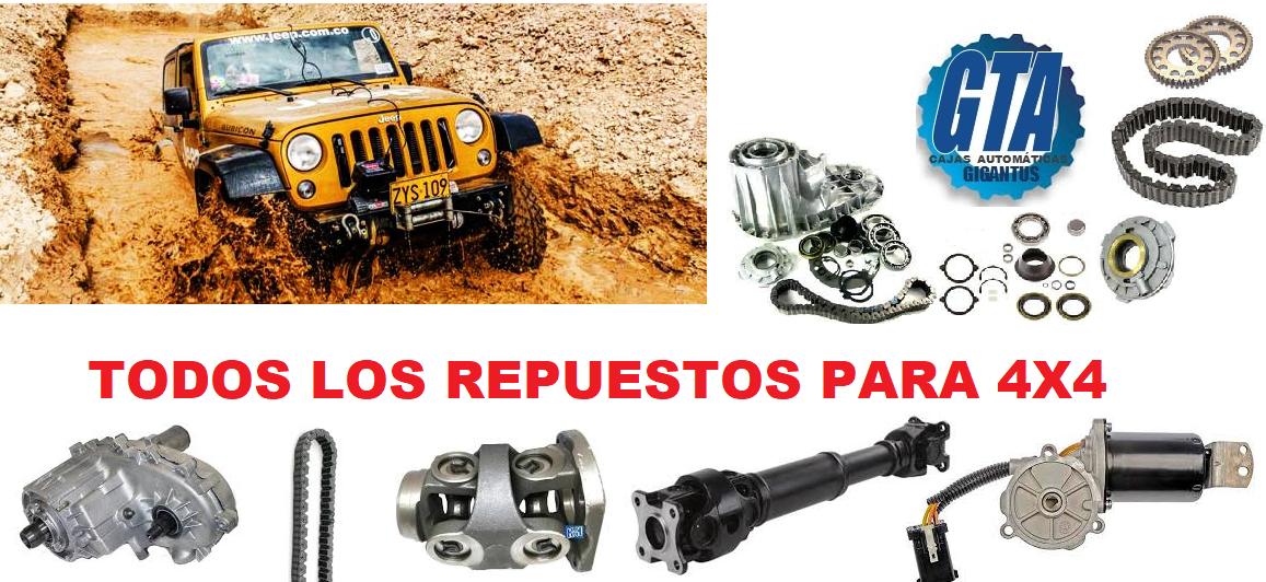 CAJAS DE TRANSFERENCIA Y REDUCTORAS 4X4
