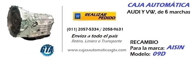 CAJA AUTOMATICA 09D
