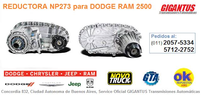 CAJA DE TRANSFERENCIA DODGE RAM 2500